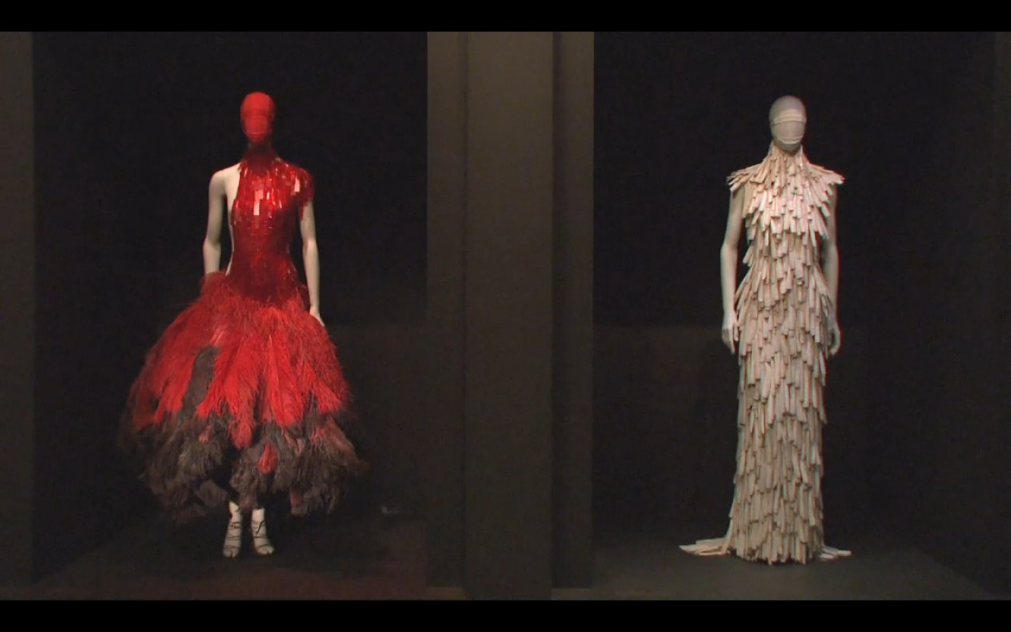 Entry to Savage Beauty, Alexander McQueen at the Met