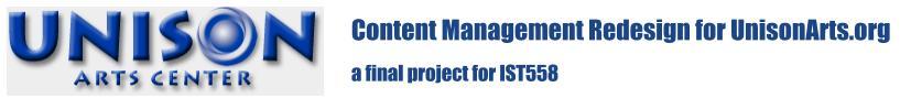 IST 558 XSL Website Redesign Project