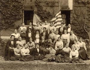 """Agora."" Wellesley College. 1897. College Women. Web. Accessed June 14, 2015. http://collegewomen.org/node/13705"